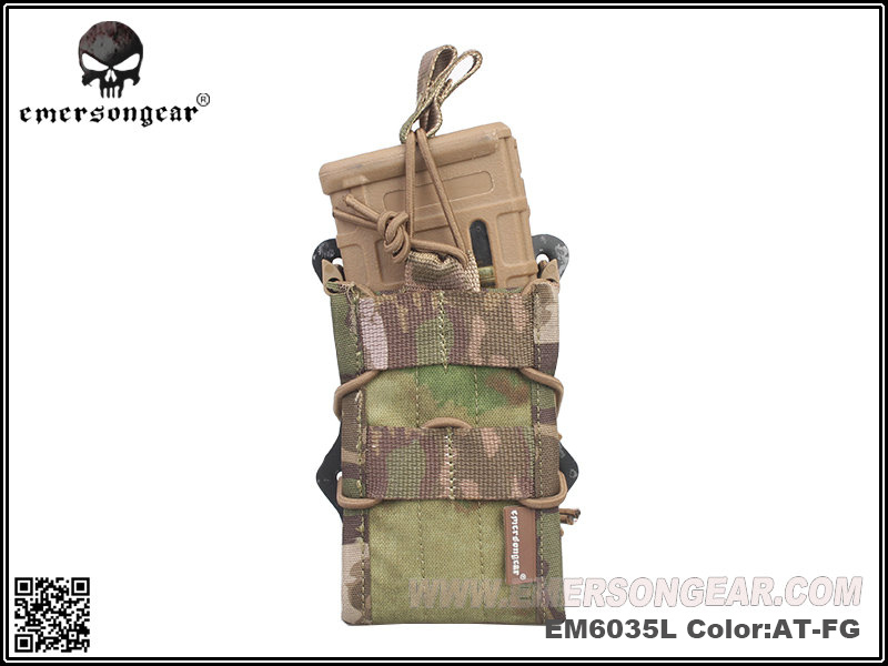 Emerson Double Modular Rifle Magazine Magazine Pouch - AT-FG