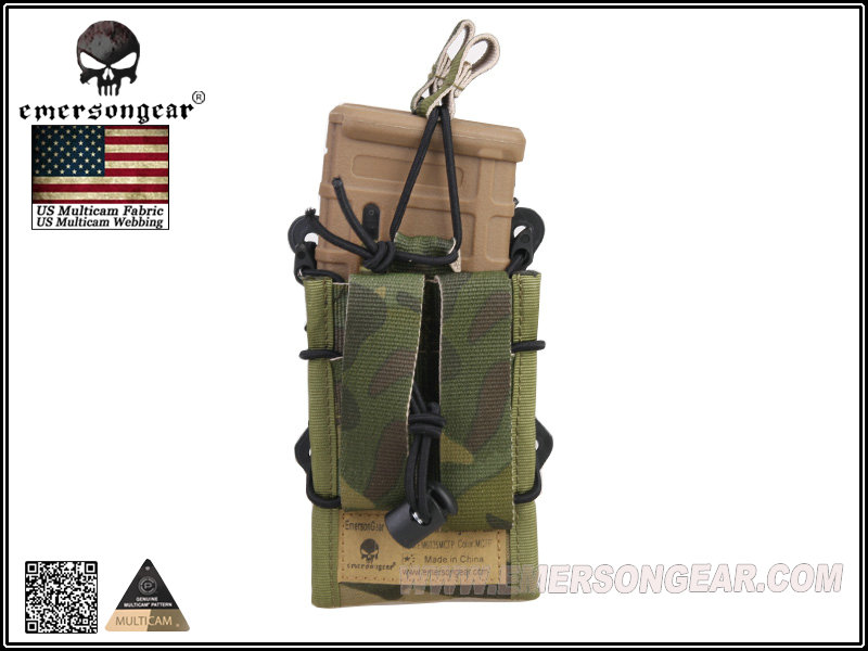 Emerson Double Modular Rifle Magazine Magazine Pouch - MC Tropic