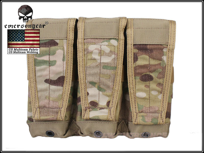 Emerson CP Style Triple 5.56 Rifle Magazine Pouch - Multicam