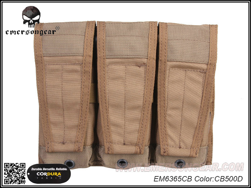 Emerson CP Style Triple 5.56 Rifle Magazine Pouch - CB
