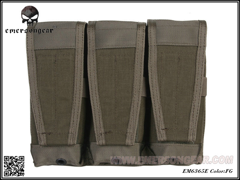 Emerson CP Style Triple 5.56 Rifle Magazine Pouch - FG