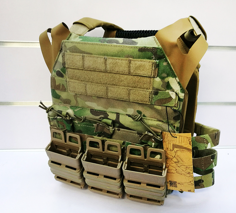 Emerson Gear Jump Plate Carrier (JPC) w/ Fast style Pouches - MC