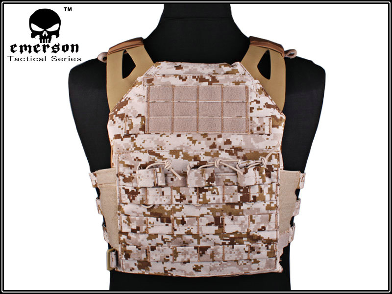 EMERSON JPC Tactical Plate Carrier - AOR1 Desert