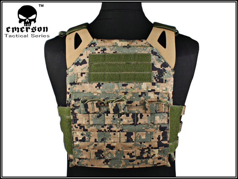 EMERSON JPC Tactical Plate Carrier - MARPAT