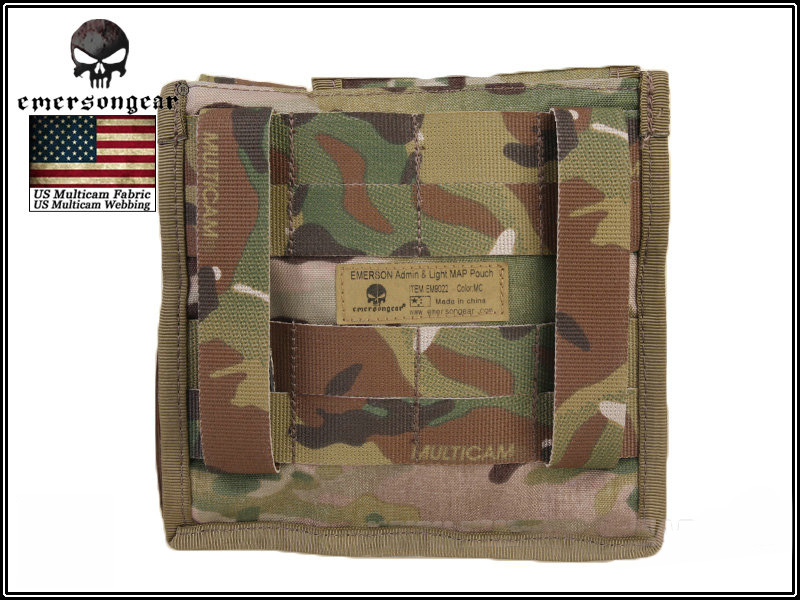 Emerson Admin & Map Pouch - Multicam