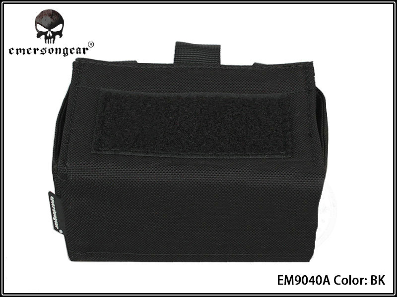 Emerson Molle Shotgun Waist Bag - Black
