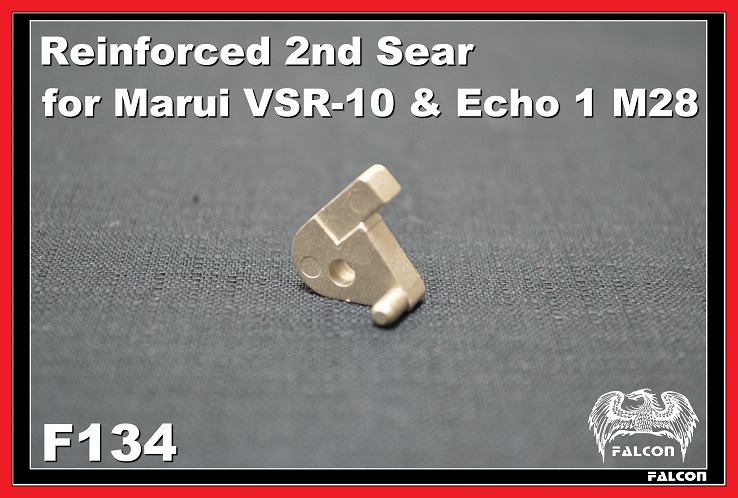 FALCON Reinforced 2nd Sear for Marui VSR-10/KS M24/Echo1 M28
