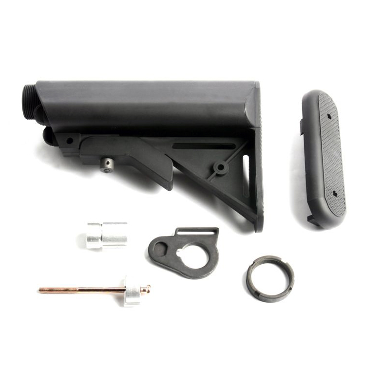 G&G AEG Buffer Tube Set + Crane Stock with QD mount for Gr16