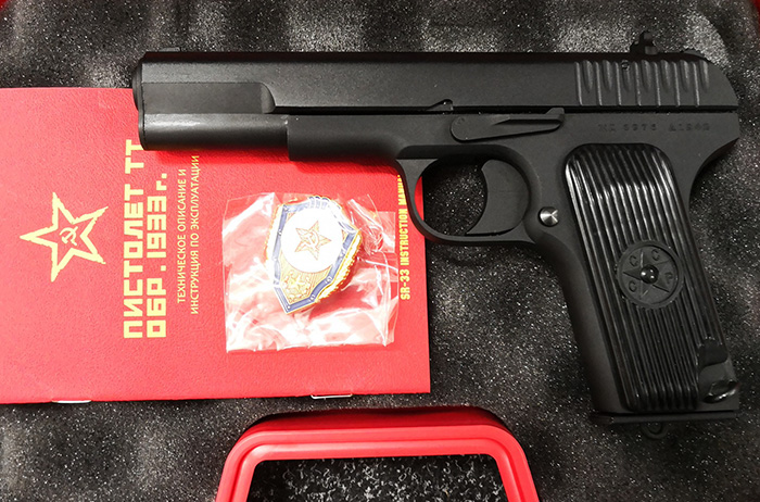 SRC SR-33 Full Metal Gas Blow Back Pistol - Limited Edition