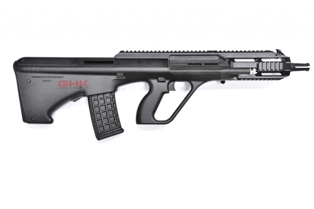 GHK Steyr AUG A3 Style Gas Blowback Rifle