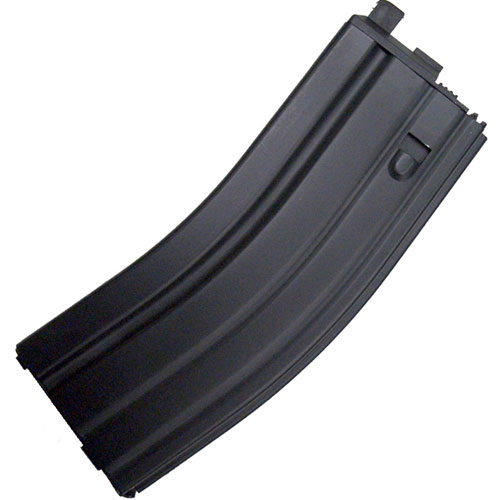 WE M4 / SCAR Type 30rds GBB Magazine - Open Bolt, Black