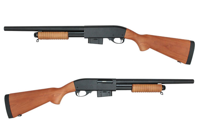 A&K Pump Action M870 Long Real Wood