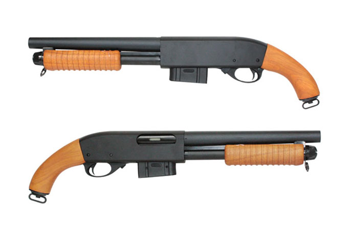 A&K Pump Action M870 (Real Wood)