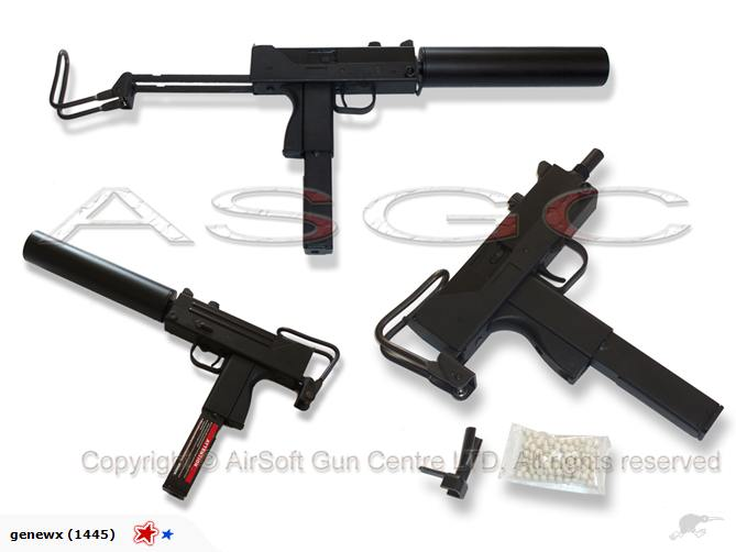HFC M11A1 /HG-203 Gas Blow Back SMG