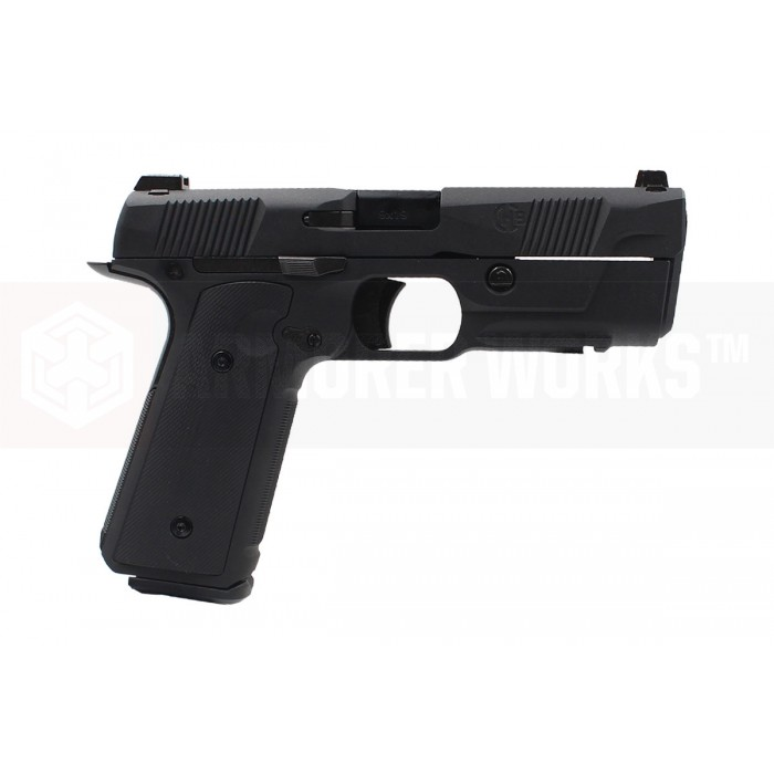 Armorer Works / EMG Licensed Hudson H9 Gas Blowback Pistol - BK