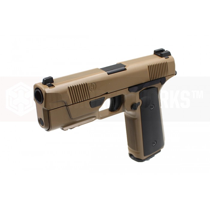 Armorer Works / EMG Licensed Hudson H9 Gas Blowback Pistol - FDE