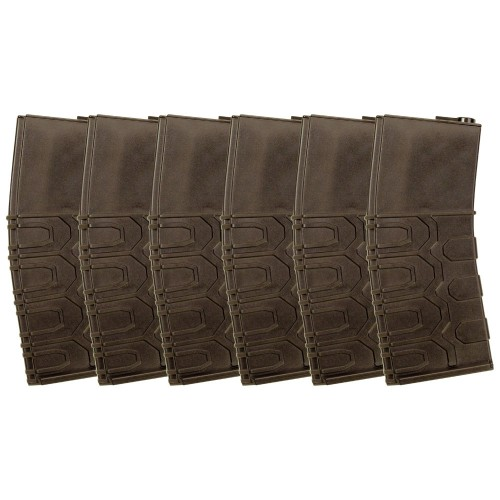 ICS 300rds Hi-Cap T4 Tactical Magazine (6pcs/Box)