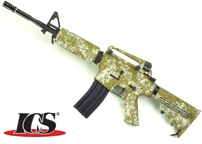 ICS Limited Edition Desert Digital M4 AEG