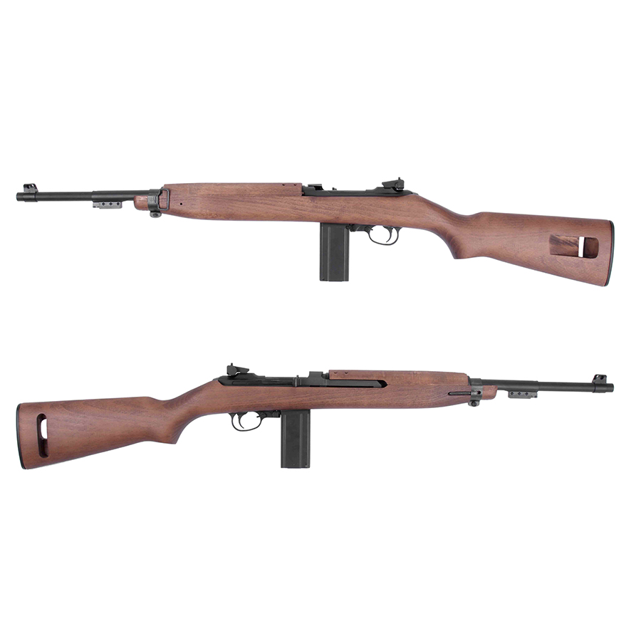 King Arms M1 Carbine CO2 Gas Blowback Rifle - Real Wood