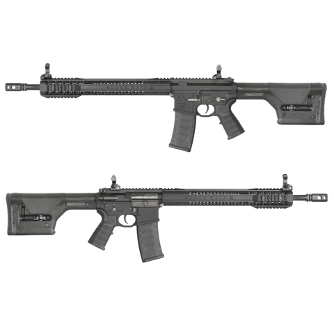 King Arms Black Rain Ordnance AEG Rifle - PTS PRS Stock(Limited)