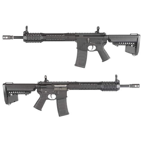 King Arms Black Rain Ordnance Licensed AEG Rifle - Black