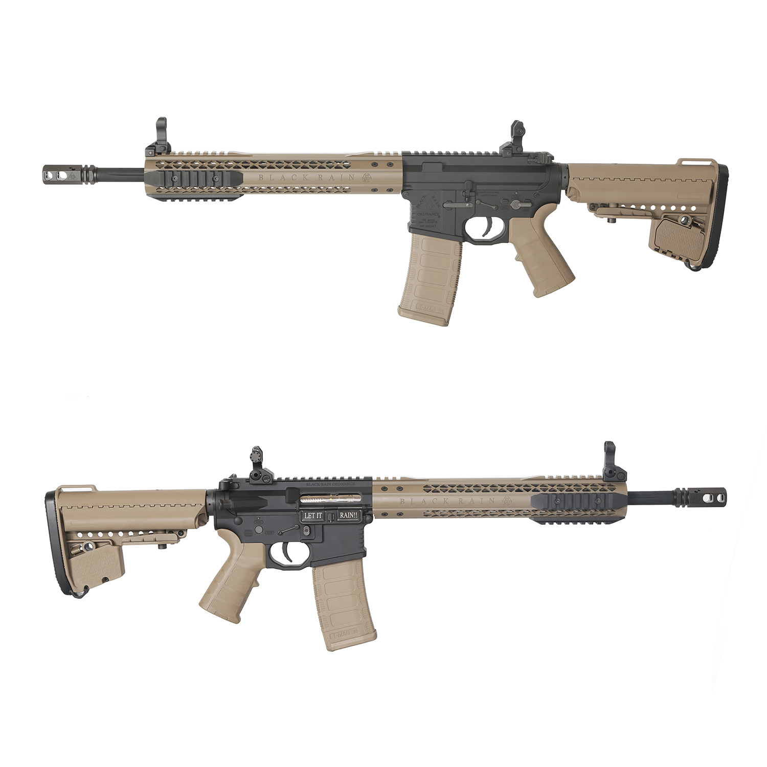 King Arms Black Rain Ordnance Licensed AEG Rifle - DE