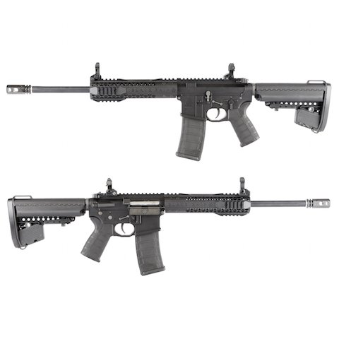King Arms Black Rain Ordnance Licensed AEG Rifle - CQB Black