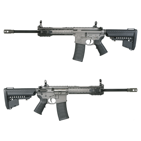 King Arms Black Rain Ordnance Licensed AEG Rifle - CQB Grey