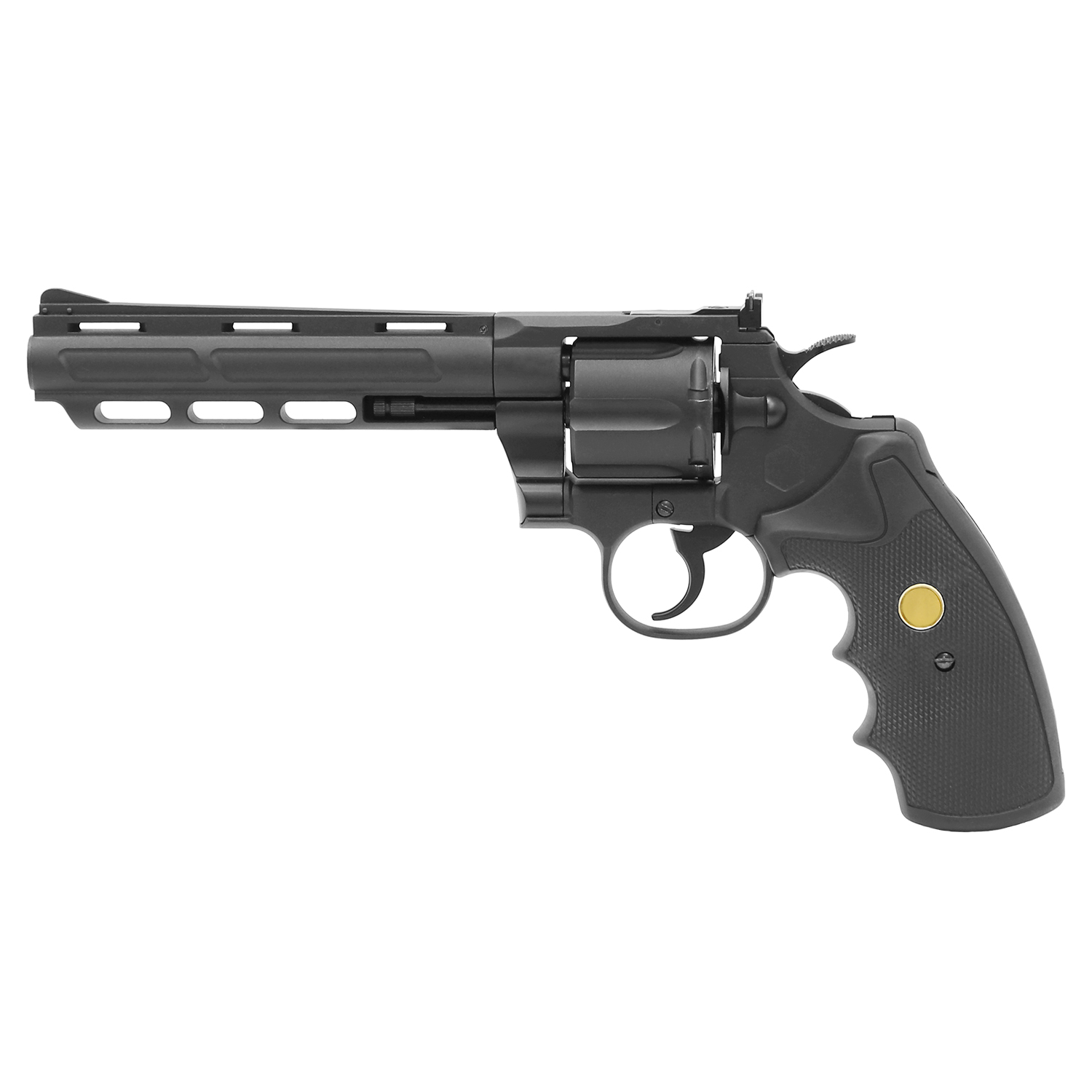 King Arms Python 357 Custom 1 CO2 Gas Revolver - 6 Inch