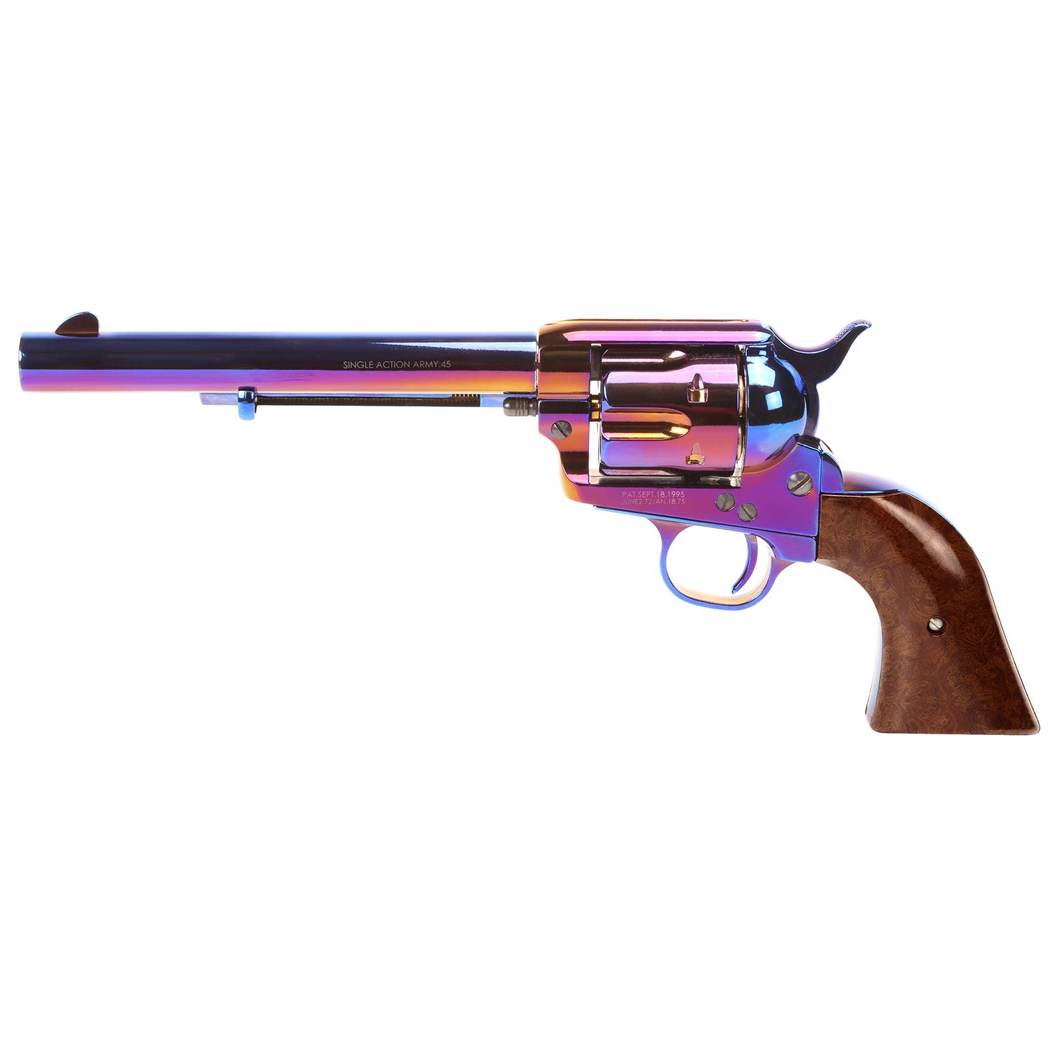 "King Arms SAA .45 Peacemaker Revolver M 6"" - Bluing Style"