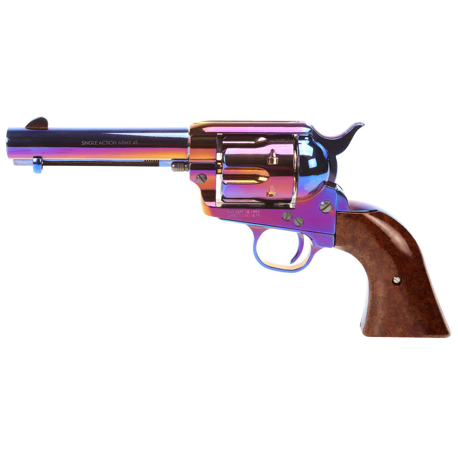 "King Arms SAA .45 Peacemaker Revolver S 4"" - Bluing Style"