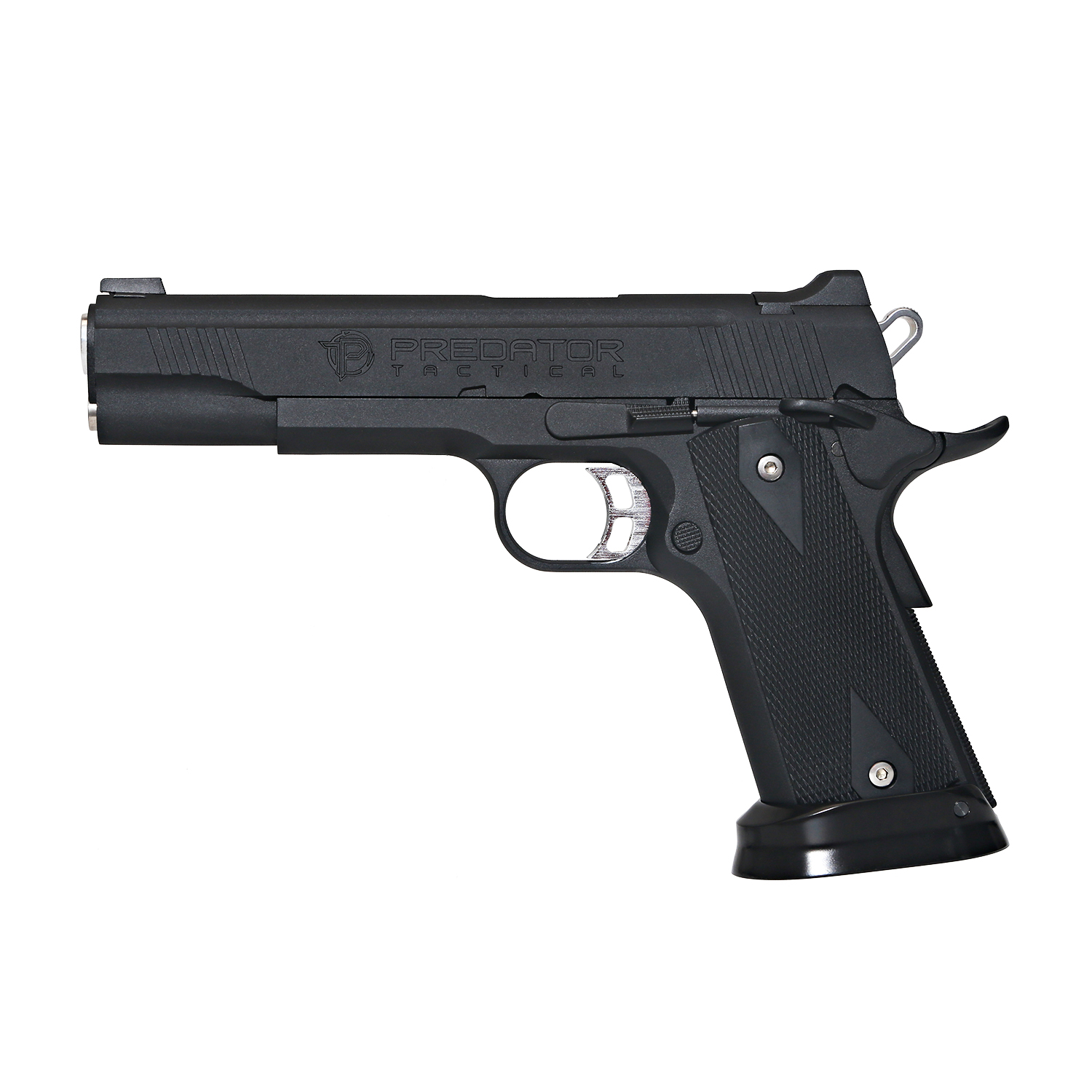 King Arms Predator Iron Shrike Full Metal GBB Pistol - Black