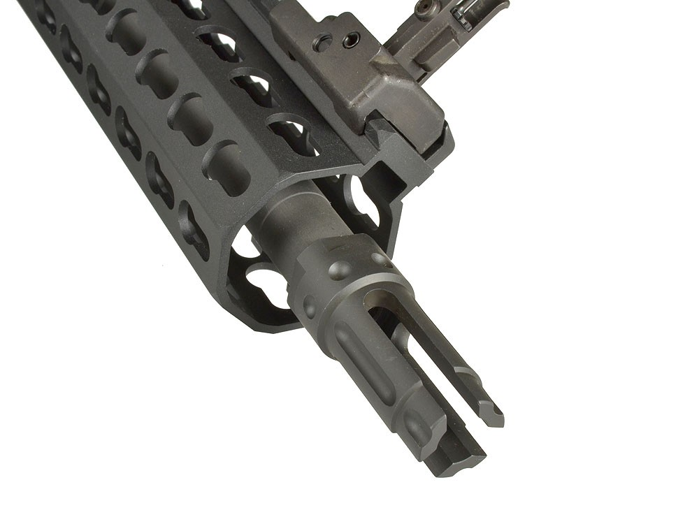 Knight's Armament Airsoft QDC 3 prong Flash Hider - CW