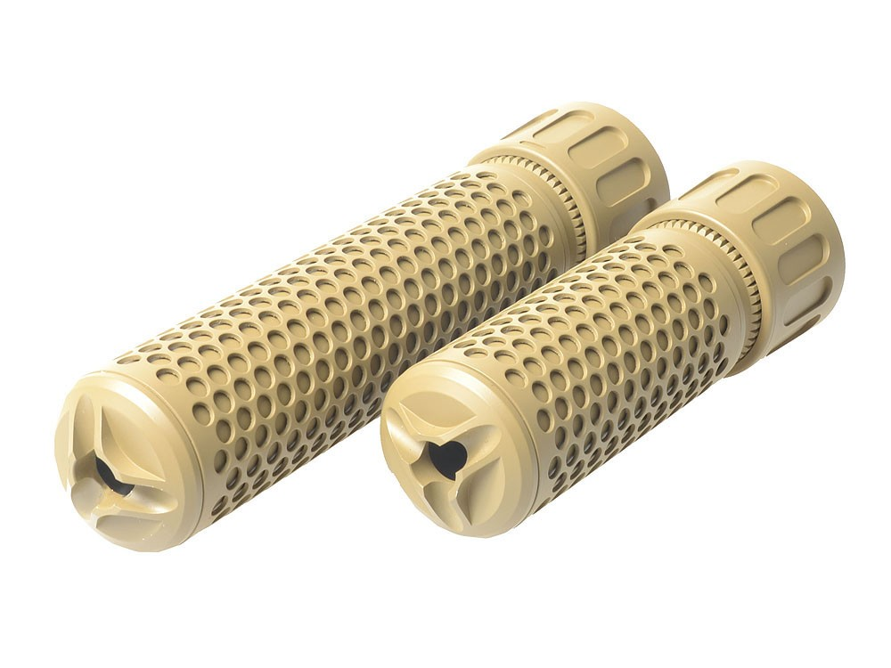 KAC QDC CQB Airsoft Dummy Suppressor - TAN