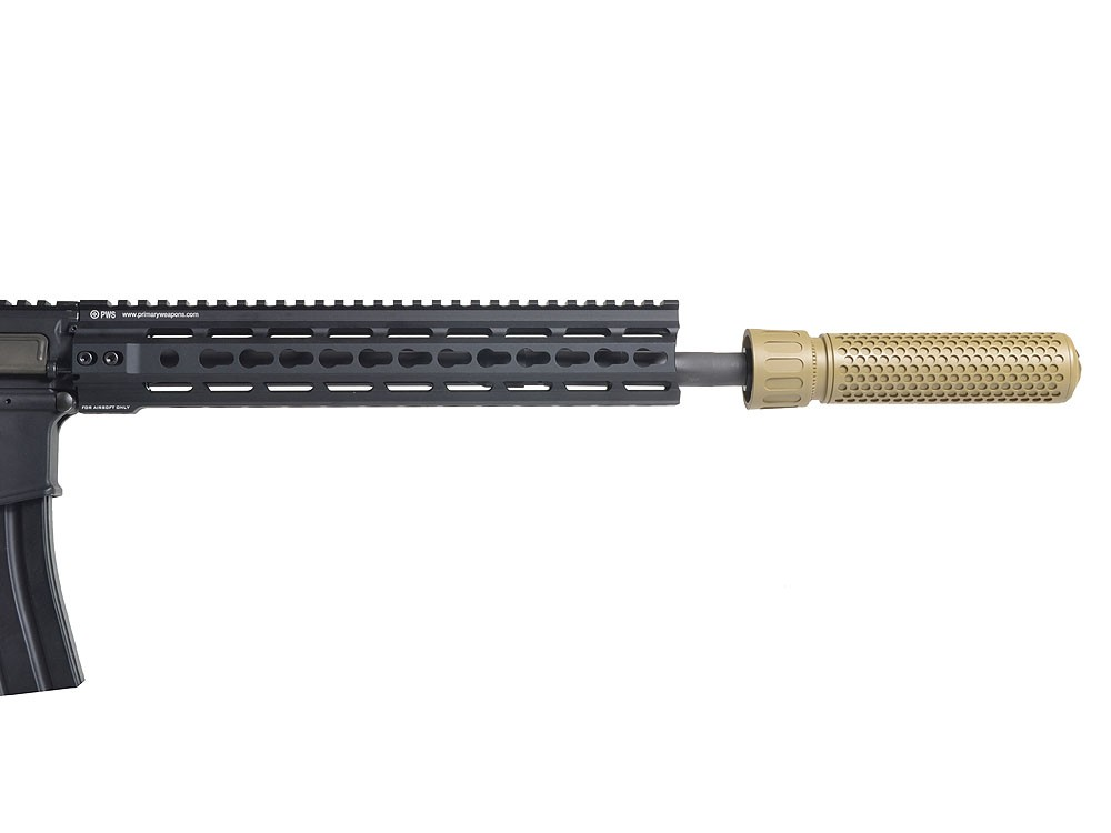 KAC QDC CQB Airsoft Dummy Suppressor - BK