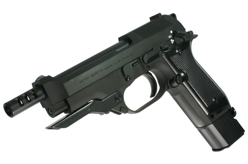 KSC M93R II Full Metal Gas Blowback Pistol (SYSTEM 7)