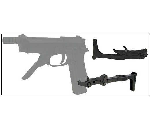 KSC Folding Stock for M93R II GBB