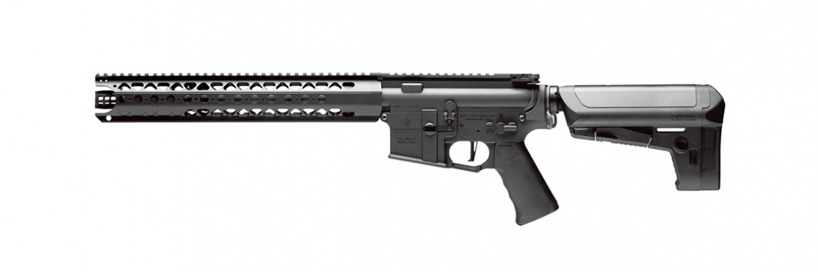 Krytac War Sport Licensed LVOA-S Full Metal AEG Rifle - Black
