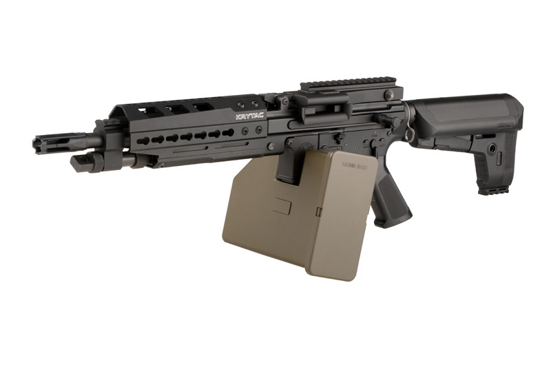 Krytac Trident LMG Enchanced Full Metal AEG - Black