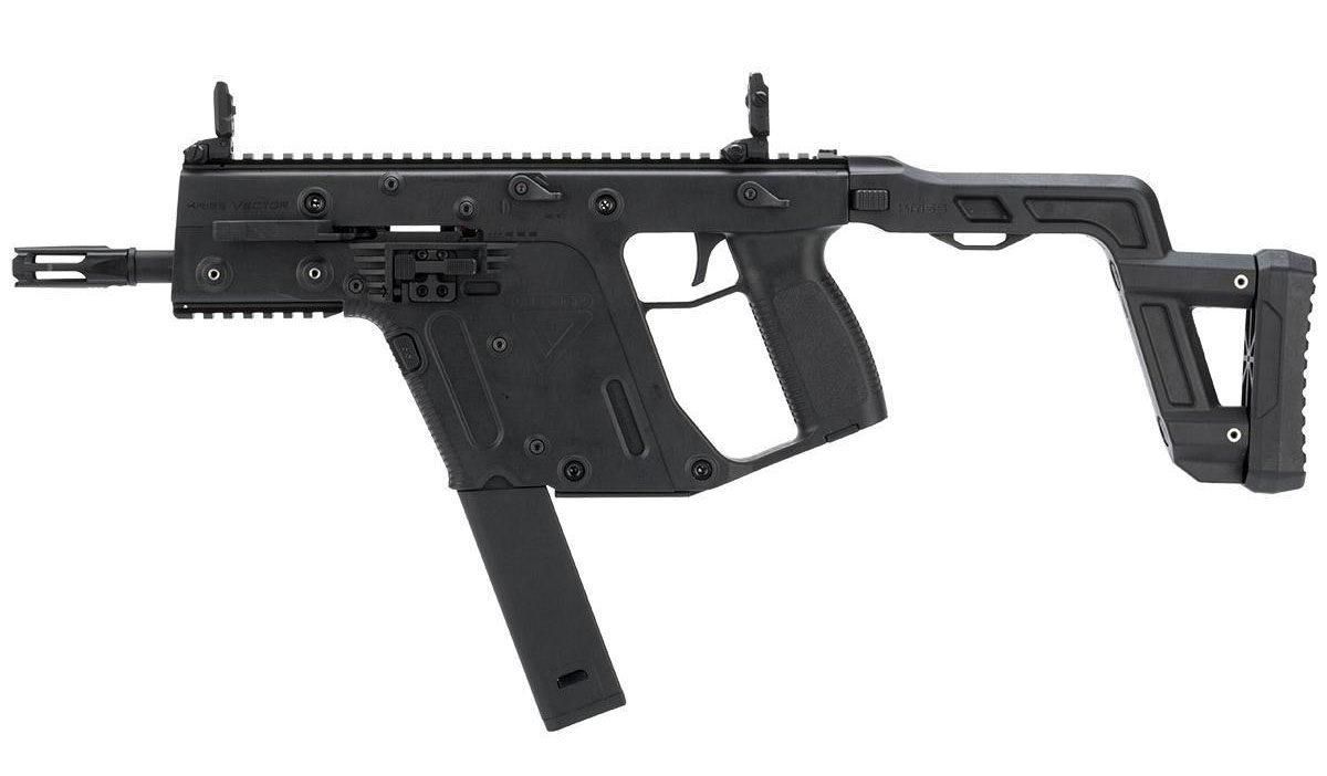 Krytac Fully Licensed Kriss Vector GEN2 AEG Rifle - Black
