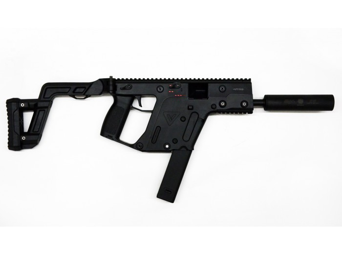 Krytac Fully Licensed Kriss Vector GEN2 AEG Rifle w/ Suppressor