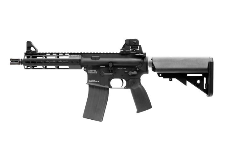 "KWA M4 KR7 7"" Keymod Full Metal Gas Blowback Rifle"