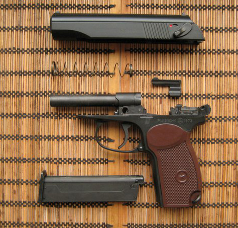 KSC Makarov MKV PM Gas Blowback Pistol (Metal)