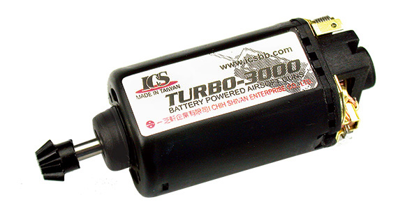 ICS MC-225 TURBO 3000 MOTOR (SHORT PIN) NEW VERSION