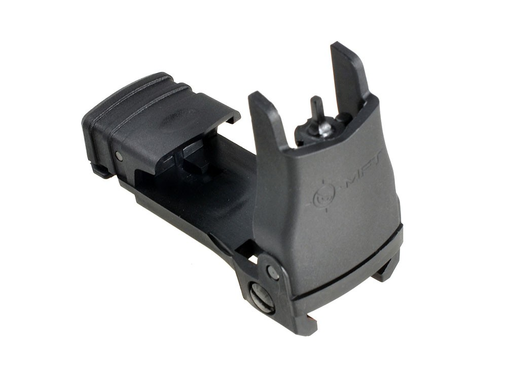 Mission First Tactical (MFT) Back Up Polymer Flip up Front Sight