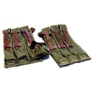 MP40 Magazine Pouch replica left and right set SRC[MP40-31]