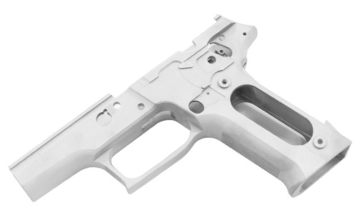 Guarder SIG P226 Aluminum Frame for Marui P226R - Silver