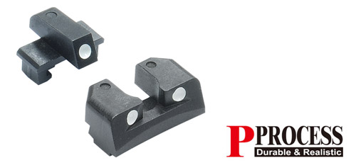 Guarder Steel Sight Set for Marui P226 Airsoft Pistol