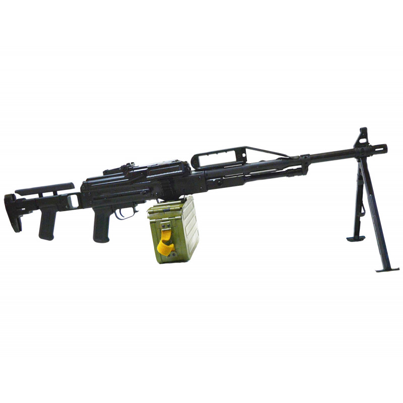 Raptor PKP Pecheneg Full Steel Light Machine Gun AEG - Tactical