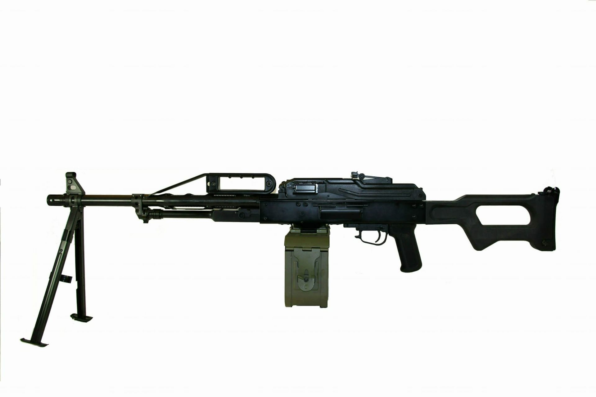 Raptor PKP Pecheneg Full Steel Light Machine Gun AEG - Standard